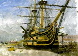 HMS Victory by Julian Bond